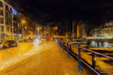 Gdansk by night 2 by wiwaldi24