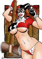 Harley Quinn by sam7