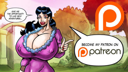 Miss Joan on Patreon by sam7