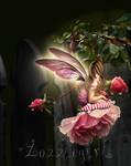Regular garden fairy by Zozziegirl