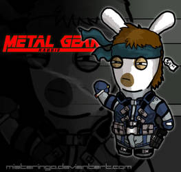 Metal Gear Rabbid by MisterIngo