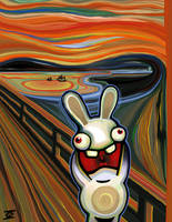 Bunnies Scream Again by MisterIngo