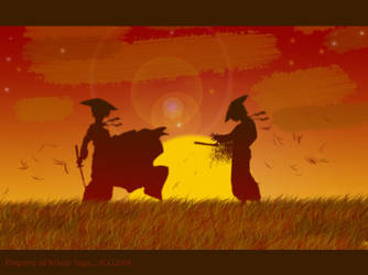 Sunset battle by MisterIngo