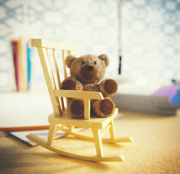 Teddy bear by IkyuValiantValentine