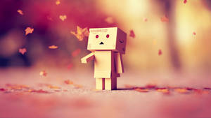 Danbo in autumn by IkyuValiantValentine