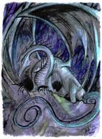 Blue Dragon by StellaB