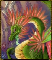Feathery Dragon by StellaB