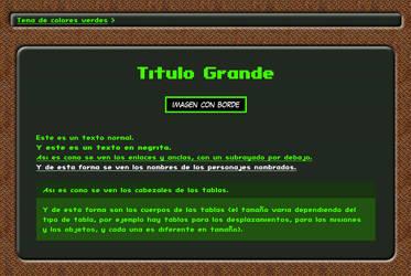 Ejemplo de la Guia de Fallout 1 en HTML by Oni-Brian