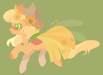 Sunflower Applejack by cenyo