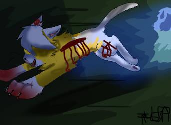 Goldenclaw's Fury (Aka The Death Of Fidgetstar) by bubblesanimations-yt