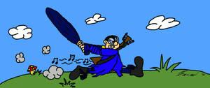 Melindor attacks by Watashiii