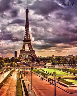 Parisian Tower by ad-shor