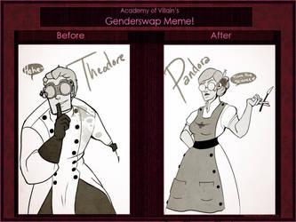 Genderswapnanigans by eldendgha