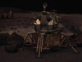 1:100 Apollo 11 Eagle by Baryonyx62