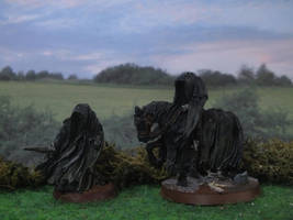 Nazgul in the Shire by Baryonyx62