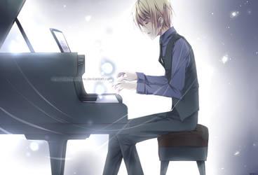 - ginga no pianist - by Blizz-Mii