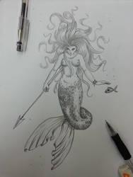 Mermaid by SashiSama