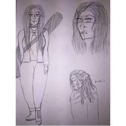 Silvia (OC) Sketches by MsSunshine95