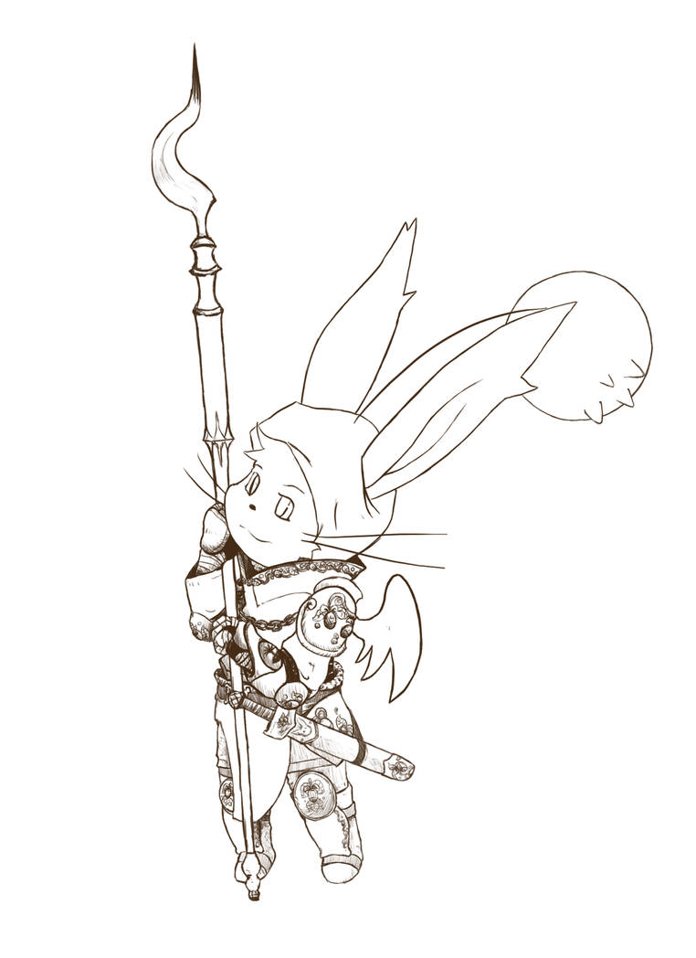 Druidic Knight Moogle By Lambent64 On Deviantart