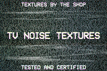 TV noise textures by simonh4