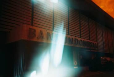 Redscale-Bank Indonesia by yoenizme