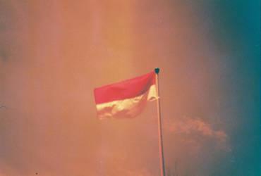 Redscale-Indonesia membara by yoenizme