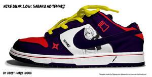 Nike Dunk Low:Sabaku no Temari by DertyHarry