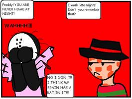 Freddy and Jason... by Ynnep