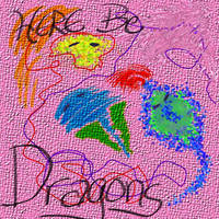here be dragons by Dancing-Treefrog