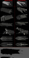 Contention: UES Heavy cruiser and Heavy frigate by Malcontent1692