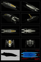 Contention: SF-21 Dragonfly Fighter/interceptor by Malcontent1692