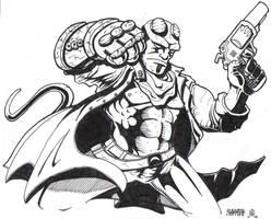 Hellboy by MARR-PHEOS