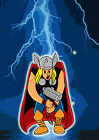 Thor is his name.... by MARR-PHEOS