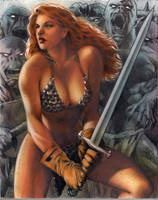 Red Sonja by huy-truong