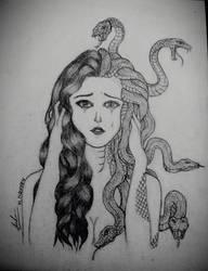 Medusa's Tear by YiNguyen