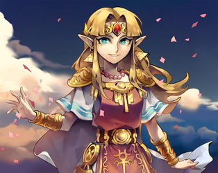 Zelda by Arlmuffin