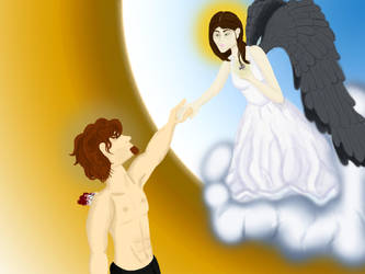 When Angels Fall...In Love by angelicdeviant