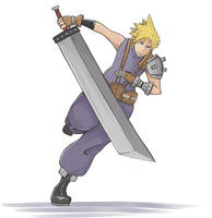 Cloud for smash!!!!! by mastergray