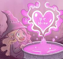 Witchy Valentine by mastergray