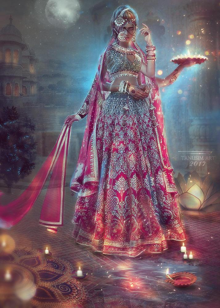 Diwali night by TanuSim