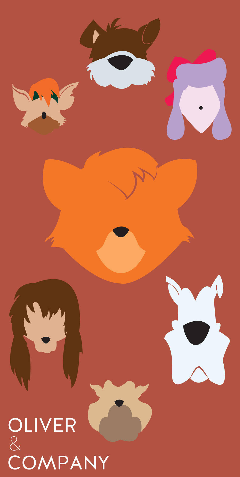 Oliver and Company by BryceDoherty on DeviantArt