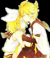 Render | Kagamine Rin y Len by LilyBananaKagamine