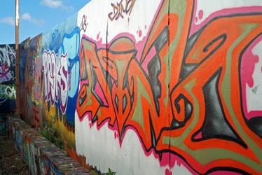 Graffiti 4 by indigodeepstock