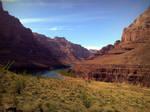 Grand Canyon Colorado river by EZReader111
