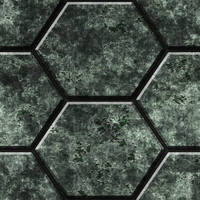 Hexagonal Metal Tiles 01 Remake by Hoover1979
