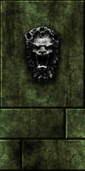 Green stone w/lion by Hoover1979