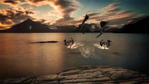 Formation Flight by AlexJoyce
