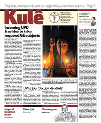 Philippine Collegian Issue 19 by kule1112