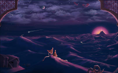 Night Journey by Feannora