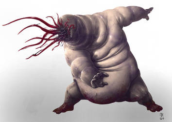 The Monster of the Week - Monster 06 by kahouet